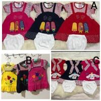 Dress Lucu Anak Bayi Perempuan 8-12 bln