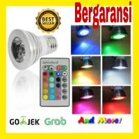 Bohlam LED dengan Remot Kontrol-lampu hias-lampu dekorasi-lampu taman