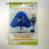paling baru dan termurah converter stick ps/converter stik ps2 ke