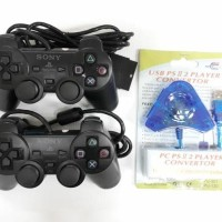 paling baru dan termurah STICK/STIK PS2/PS 2 OP PAKET DENGAN CONVERTER