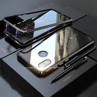 CASE MAGNETIC GLASS XIAOMI REDMI NOTE 5 PRO 360 CASE redmi note 6 pro