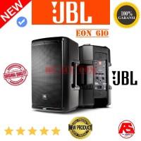 SPEAKER AKTIF JBL EON 610 POWERED 10INCH 2WAY LOUDSPEAKER ORIGINAL