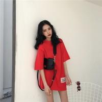 Kaos T-Shirt Lengan Pendek Model Longgar, Gaya Korea