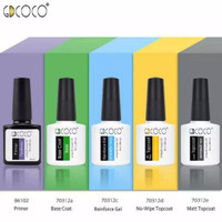 GDCOCO Top/Base/Matt/Dove Top Coat Gel Nail polish UV led 8ml