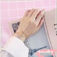 Chic sweet and simple peach heart bracelet women bracelet jewelry