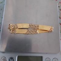 Gelang emas model balok double 24k 10 Gram