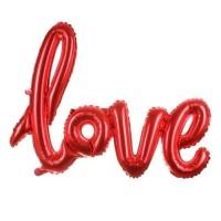 Balon foil love latin big size