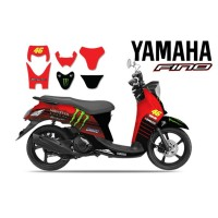 DECAL STICKER MOTOR YAMAHA FINO 46