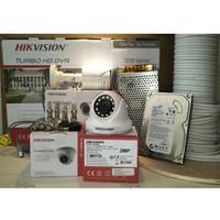 PAKET CCTV 4 CH 2MP 1080P HIKVISION LENGKAP SIAP PASANG