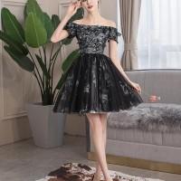 Gaun Pesta 1905037 Hitam Sabrina Party Dress Gown