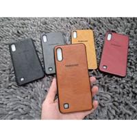Softcase Leather Samsung A10 A20 A30 A50 M10 M20 Casing Jel Case Kulit