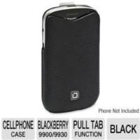 Dicota Leather Tab Case for BlackBerry Bold 9900 - Black