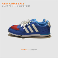 ADIDAS NEO CITY RACER - BLUE/RED - FACTORY MADE