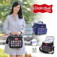 Dialogue Baby Cooler Bag Print Owl DGC1001 perlengkapan tempat ASI