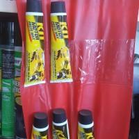 baret Helm dan Body sepeda motor - Kit kuning tube besar 60gram