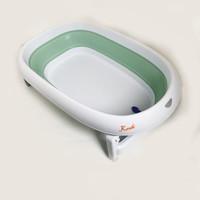Karibu Mega Folding Bath Tub (Bak Mandi Bayi Lipat) - Green