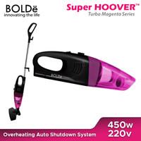 BOLDe Vacuum Cleaner Super Hoover - TURBO BLACK MAGENTA