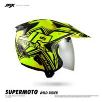 Jpx Supermoto Wild Rider Fluorescent Yellow Doff size XL