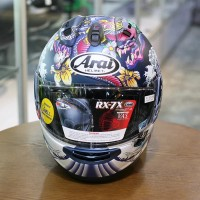 Helm Arai RX7 Oriental Dragon Blue Face Size M
