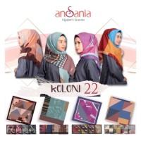 Jilbab Hijab Kerudung Segiempat SAUDIA KOLONI by ANSANIA (Mix Motif)