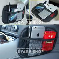 Car Storage Organizer Kantong di Mobil - Net Pocket Tempat HP dll (M)