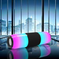 Portable Speaker LED / Speker Wireless Pulse 4 - Hitam/Speaker LED