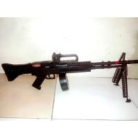 M159 Mainan Spring Kokang Senapan M60VN AEG Airsoft Sniper Rambo