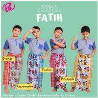 Celana Sarung Anak - Motif Karakter - Warna Yang Colorfull