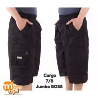 Celana Cargo Pendek 7/8 Katun Boss - JUMBO BOSS
