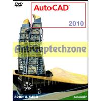 AUTOCAD 2010 ( 32BIT & 64BIT ) Full Version