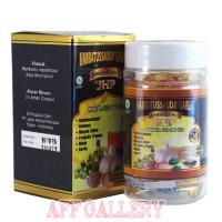 "Habbatussauda Garlic 5in 1 JHP isi 70 kapsul/kolesterol/stroke/tensi"""