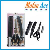 (HE030) Peralatan Gunting Rambut Salon Set / Gunting Set 3in1