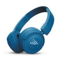 earphone JBL Wireless On-ear headphones T450BT - Blue