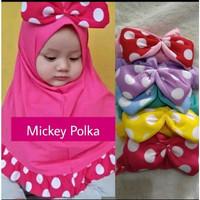 Jilbab Anak Hijab Baby Mickey