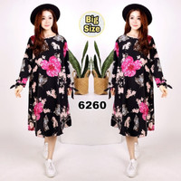 dress / dress korea / dress jumbo / jumbo / tunik jumbo