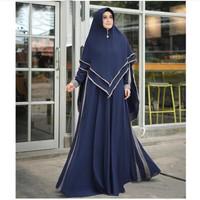 gamis / gamis syari / dress / dress muslim / maxi dress