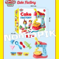fundoh Cake Factory /Play doh murah/playdoh murah/ fun doh ice