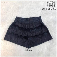 Hotpants renda bulu fashion made in korea