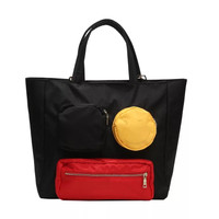 Hindmarch smile Large totebag / Tas Selempang Bahu travel import nilon