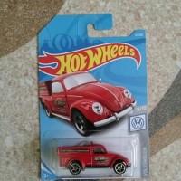 Hotwheels 2019 Volkswagen pickup merah