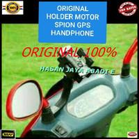 HOLDER jepit motor sepeda pegangan HANDPHONE gantungan gps tempat hp b