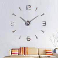 Jam Dinding Besar Dekorasi DIY Giant Wall Clock 80-130cm DIY-104