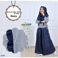 Setelan Busana Muslim Anak   celana kulot  Pasmina / Fashion Anak /