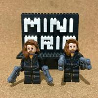 G1-095 Minifigure Black Widow The Avengers - Marvel - Lego Compatible