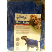 Baju handuk mandi anjing Pawise bath towel M super absorbent