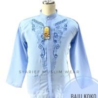 Baju Koko Lengan Panjang Rahmat - Murah Berkualitas