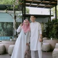 Baju Busana Muslim Gamis Couple Pria Wanita Amanah