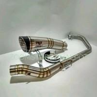 knalpot r9 h2 for vixion - r15 - all new cbr 150r facelift - gsx r 150