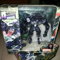 Revoltech Venom Amazing Yamaguchi Marvel Action Figures New Kws