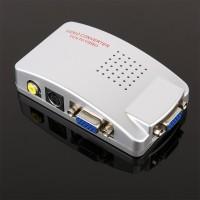 Terlaris High Resolution VGA to RCA AV Video or S-Video Video